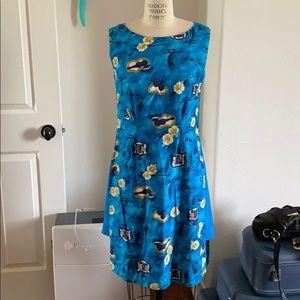 Dresses & Skirts - Vintage Blue Aloha Dress